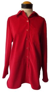 Sag Harbor Button Down Shirt Red