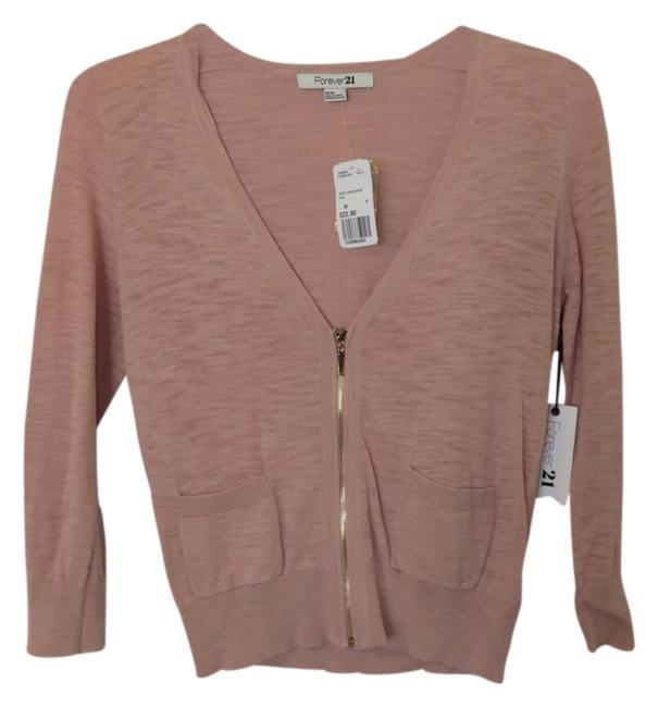 Preload https://item5.tradesy.com/images/forever-21-pink-cardigan-size-10-m-4012024-0-0.jpg?width=400&height=650