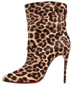 Christian Louboutin Leopard Print Boots