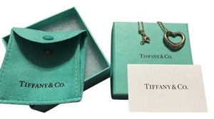 Tiffany & Co. Sterling Silver Tiffany & Co Necklace (OI-54 B2))