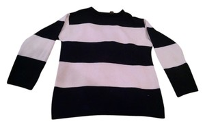 Relativity Striped Chunky Slouchy Sweater