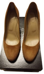 J.Crew Warm Cognac Wedges