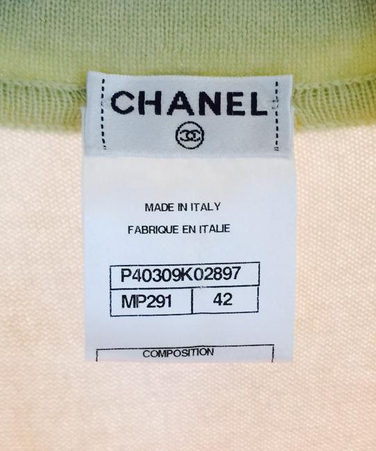 Chanel Cashmere Pastel Timeless Coco Logo Sweater