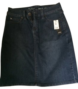 The Limited Skirt Blue Denim
