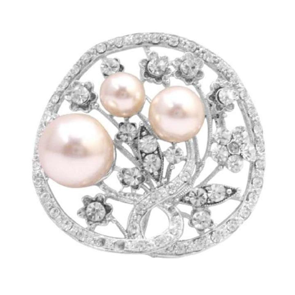 pearl pink masako earrings lyst jewelry in stud pearls round