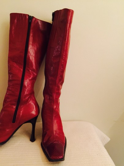 Arielle Red Boots