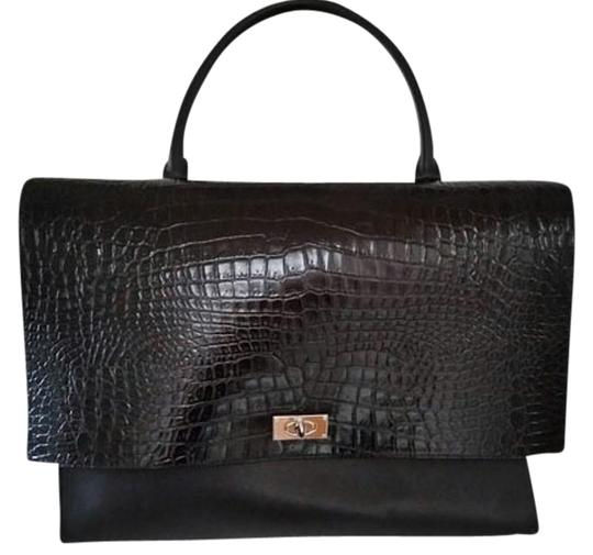 Preload https://item2.tradesy.com/images/givenchy-large-shark-croc-effect-black-leather-and-suede-tote-4014541-0-1.jpg?width=440&height=440