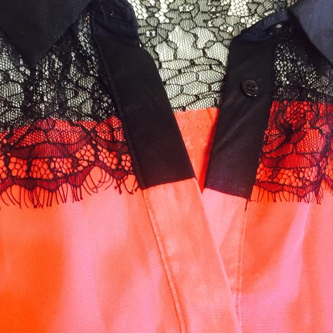 Other Top Coral & Black