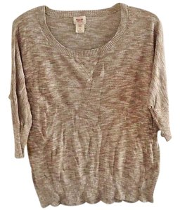 Mossimo Supply Co. Cotton Textured Embellished Sweater
