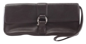 Via Spiga chocolate brown Clutch
