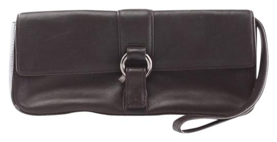 Preload https://item1.tradesy.com/images/via-spiga-chocolate-brown-leather-clutch-4014970-0-0.jpg?width=440&height=440
