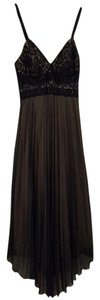 Caren Desiree Pleated Lace Dress