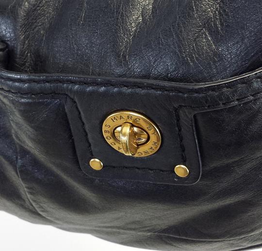 Marc by Marc Jacobs Leather Crescent Shoulder Bag