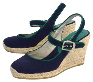 Bettye Muller Canvas Espadrille Wedges