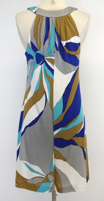 Trina Turk short dress Print Silk Sleeveless on Tradesy
