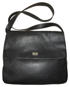 The Sak Crossbody Laptop black Messenger Bag
