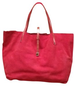 Tiffany & Co. Reversible Suede Tote in Pink