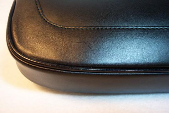 Gucci Vintage Leather Made In Italy Hobo Bag