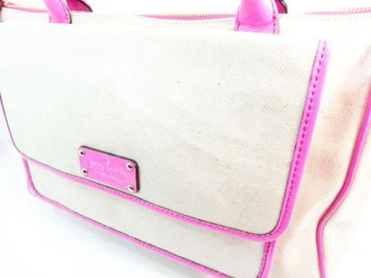 Kate Spade New Off White Floral Interior New Tote in Ivory Pink