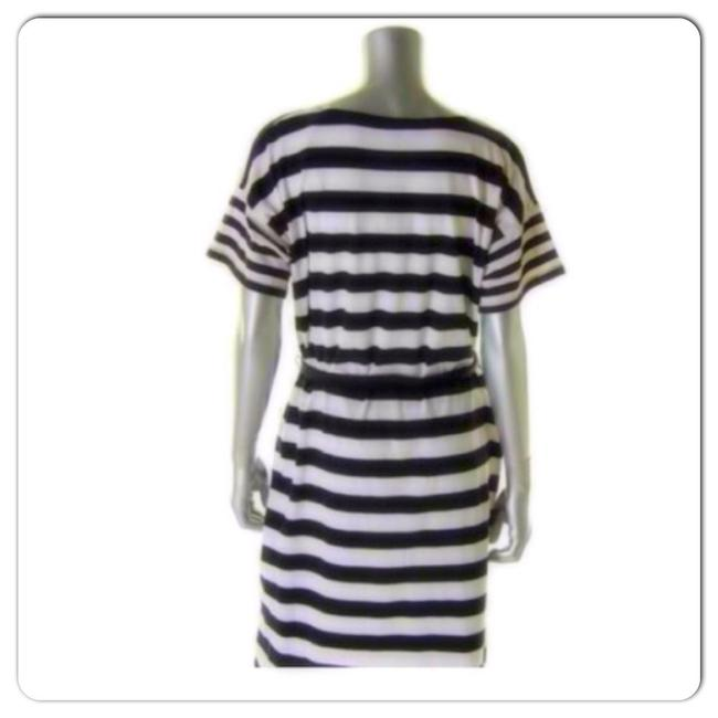 Jones New York short dress Black White on Tradesy