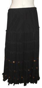 Kaktus Maxi Skirt black