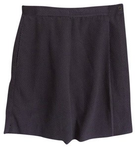 Lily's of Beverly HIlls Skort Navy Blue with White Polka Dots