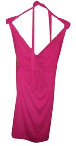 Frederick's of Hollywood pink Halter Top