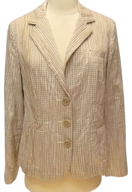 CAbi Medium Cotton beige/white Jacket