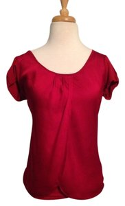 New York & Company T Shirt Red