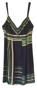 Guess short dress Navy/green/white Juniors Size 9 on Tradesy