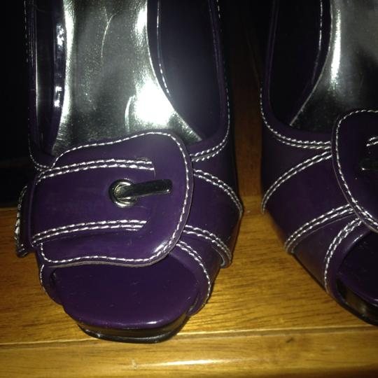 Bakers Purple Pumps
