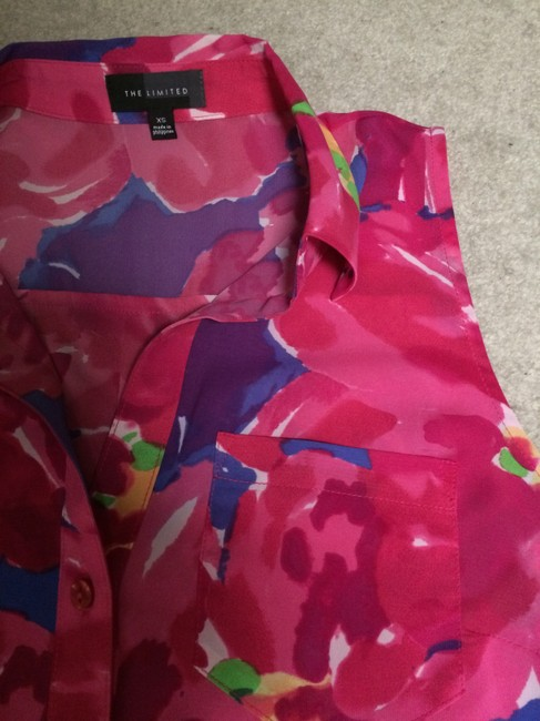 The Limited Top Pink floral