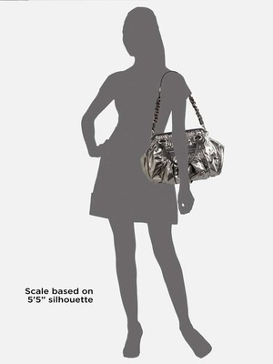 Marc Jacobs Vuitton Silver Satchel in Silver, Pewter, Metallic