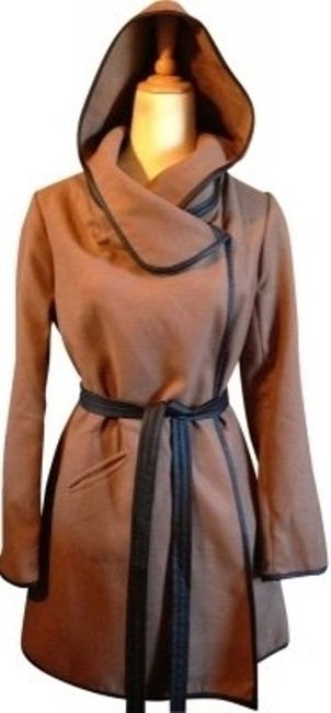 Preload https://item1.tradesy.com/images/bb-dakota-camelbrown-hooded-leather-trim-pea-coat-size-6-s-40180-0-0.jpg?width=400&height=650