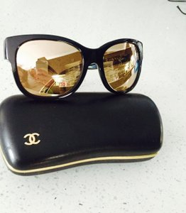 Chanel Gold Chanel Sunglasses