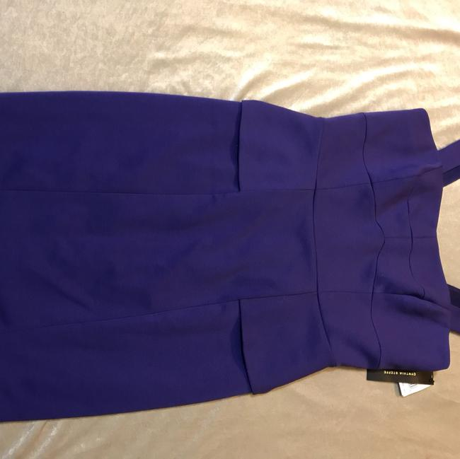 Cynthia Steffe short dress Royal Purple on Tradesy