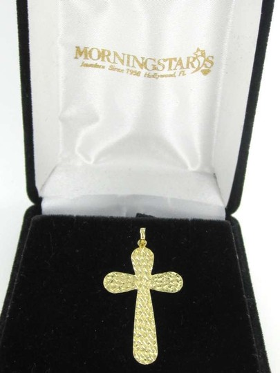 Other 14KT Yellow Gold Pendant CROSS KARAT CHARM