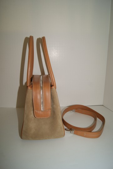 Tod's Suede/leather Satchel in Tan