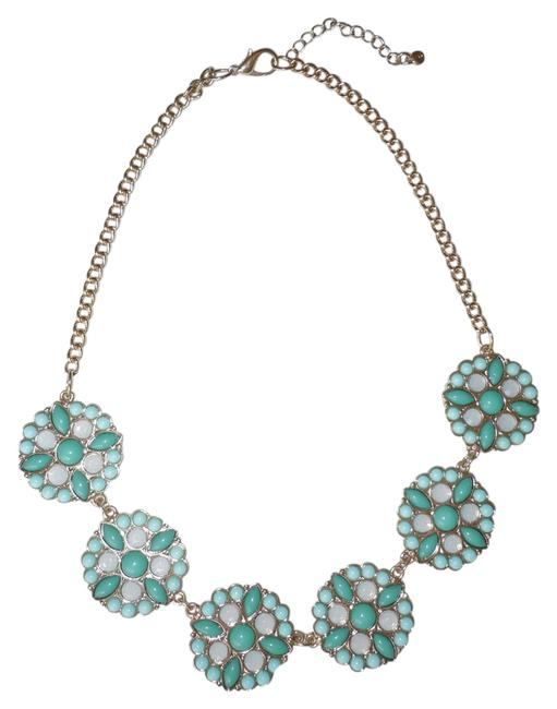 Item - Green Disc Necklace