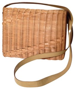 Other Wicker Designer Italian Shoulder Bag