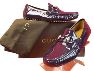 Gucci Purple Flats