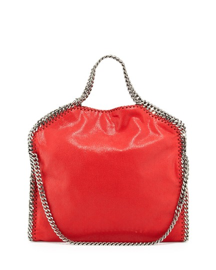 Preload https://item5.tradesy.com/images/stella-mccartney-falabella-shaggy-deer-foldover-coral-faux-leather-tote-4018549-0-1.jpg?width=440&height=440