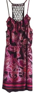 Xhilaration short dress Pink Purple Maroon Magenta on Tradesy
