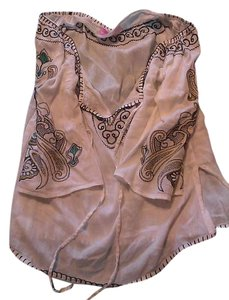 Pookie and Sebastian Cotton Vintage Embroidered Tunic
