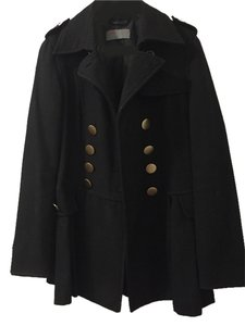 PAPER DOLL Military Style Pea Coat
