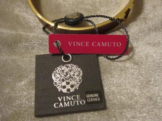Vince Camuto NWT 2 Cute Vince Camuto Gold/Leather Bangles
