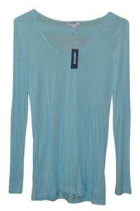 Old Navy Long Sleeve Color T Shirt Aqua