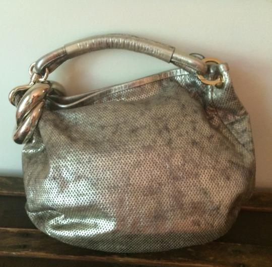 Jimmy Choo Gold Hobo Bag