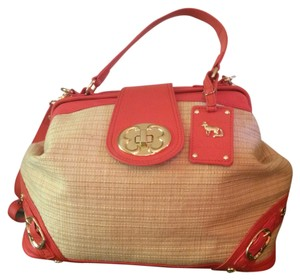 Emma Fox Satchel in Tan