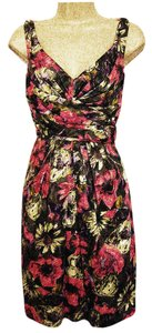 Suzi Chin for Maggy Boutique short dress Multi-Color Knee-length on Tradesy